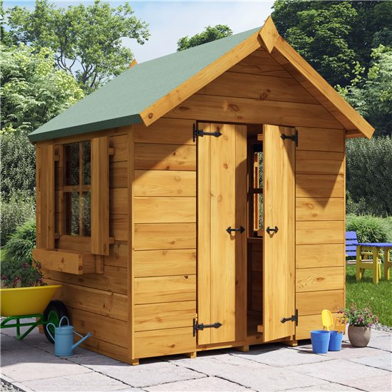 BillyOh Childs Potting Shed Playhouse - 4x4 Potting Shed Windowed