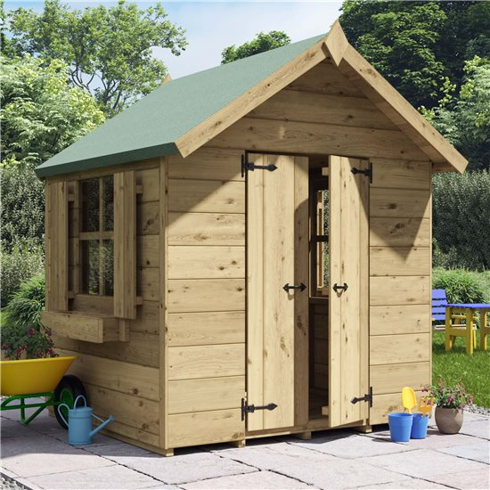 BillyOh Childs Potting Shed Playhouse - PT-4x4 Potting Shed Windowed