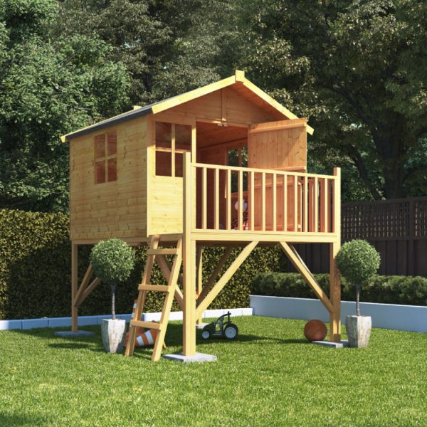 BillyOh Lollipop Junior Wooden Playhouse Tower