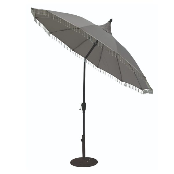 Garden Must Haves Carrousel 2.7m Parasol - Grey