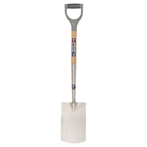 Spear and Jackson Neverbend Stainless Steel Digging Spade