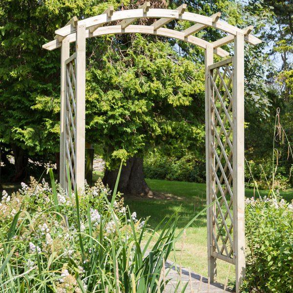 Zest4Leisure Daria Wooden Garden Arch