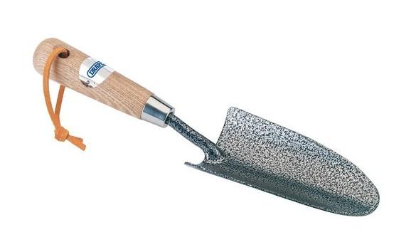 14313 Carbon Steel Heavy Duty Hand Trowel with Ash Handle - Draper