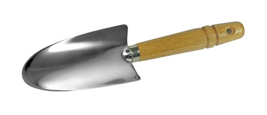 251211 Stainless Steel Hand Trowel 270mm - Silverline