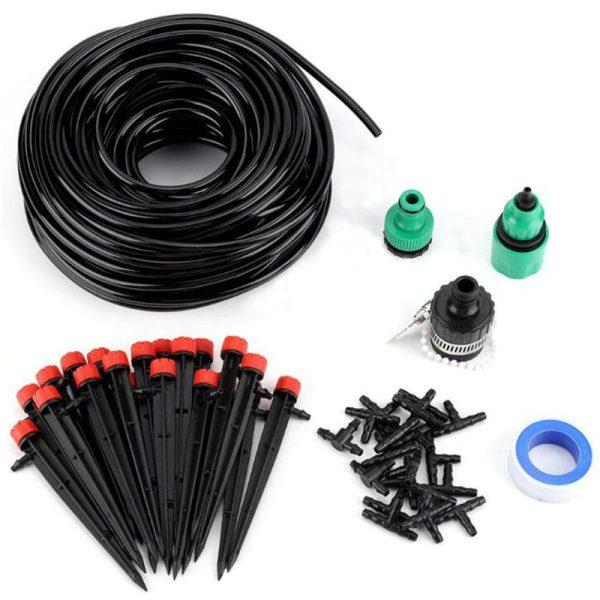 25MDIY Drip Irrigation System Automatic Watering Garden Hose Micro Drip Watering Kits