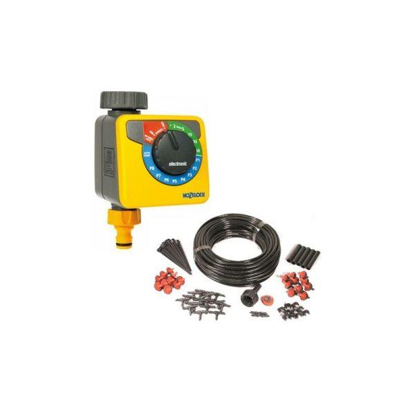 2705 AC1 Water Timer & Micro Irrigation Kit Automatic Watering - Hozelock