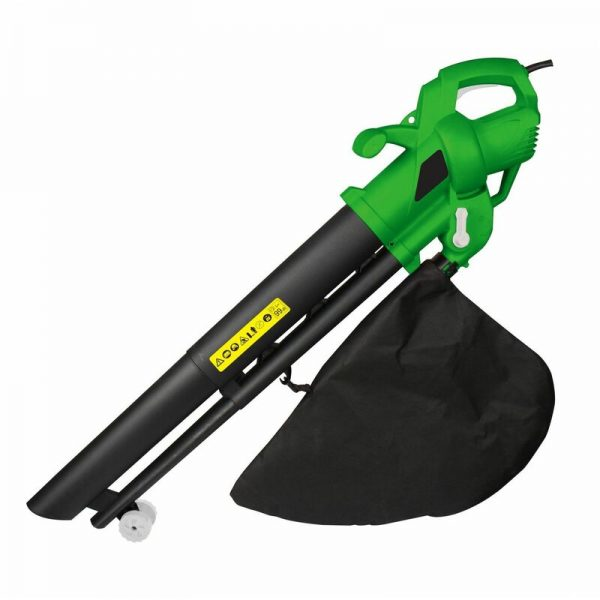 3-in-1 2600W Electric Garden Leaf Blower and Vacuum Mulcher - Oypla