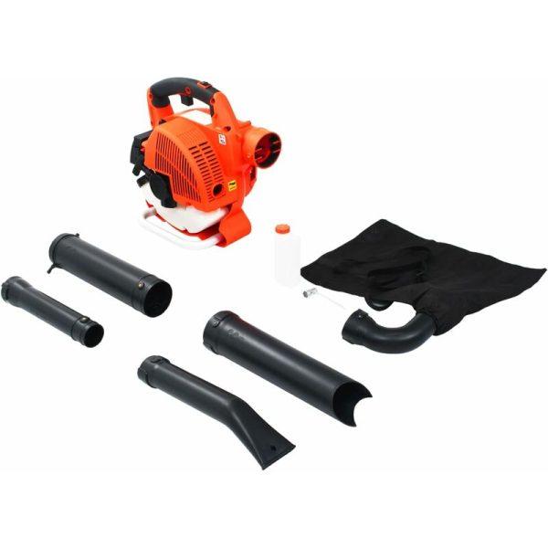 3 in 1 Petrol Leaf Blower 26 cc Orange QAH06360 - Hommoo