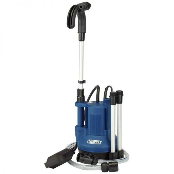 36327 40L/Min Submersible Water Butt Pump with Float Switch (350W) - Draper