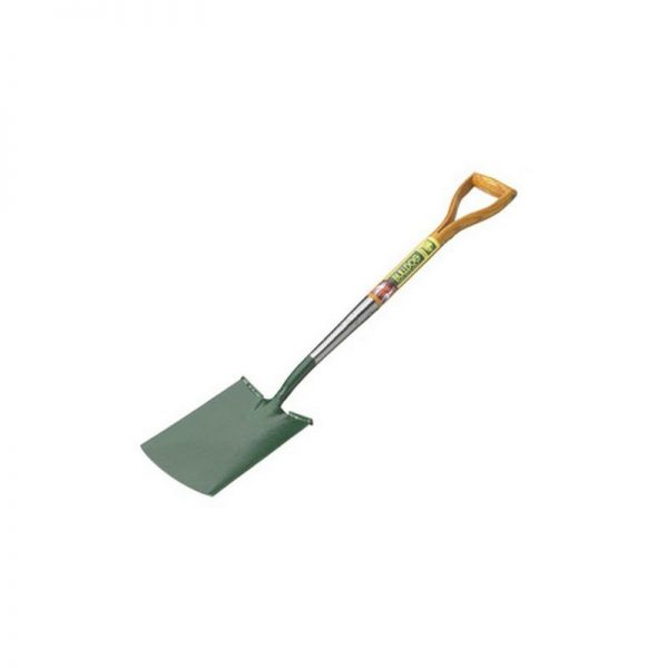 5610012850 Premier Flat Treaded Digging Spade 28' Wooden Handle MYD - Bulldog