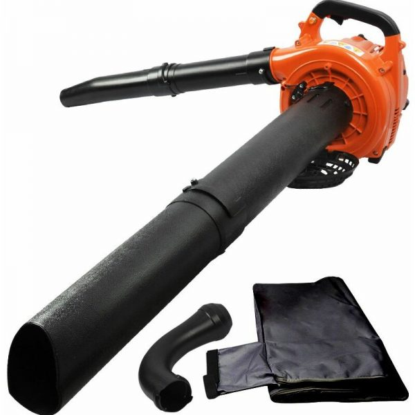 7000w Petrol Garden Vac Blowers 26cc 3 in 1 Leaf Blower Blow + Vacuum + Shredder