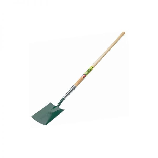 7101LPH48N Premier Digging Spade Long 48' Wooden Handle - Bulldog