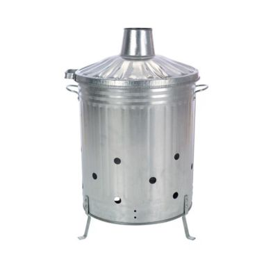 75 Litre Garden Waste Incinerator With Lid