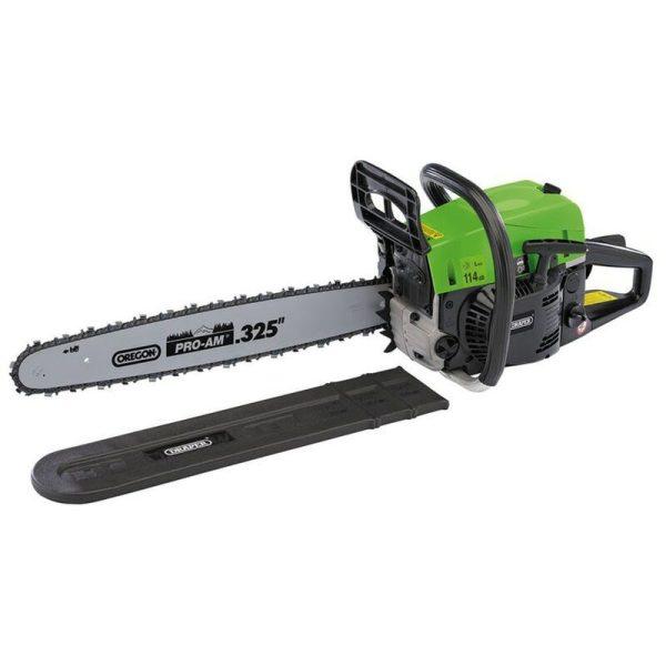 80106 500mm Petrol Chainsaw 52cc 2000W - Draper