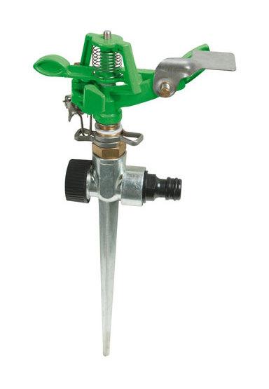 868552 Spiked Impulse Sprinkler 1/2' Male - 300mm - Silverline