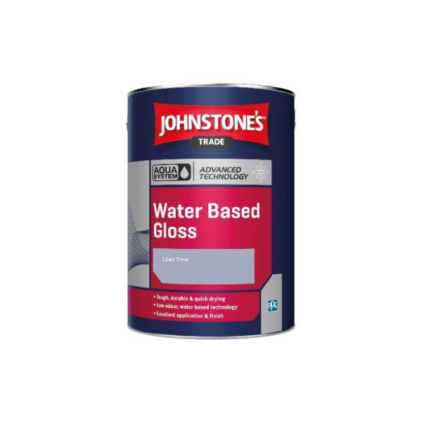 Aqua Water Based Gloss - Lilac Time - 1ltr - Johnstone's