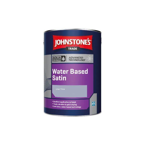 Aqua Water Based Satin - Lilac Time - 1ltr - Johnstone's