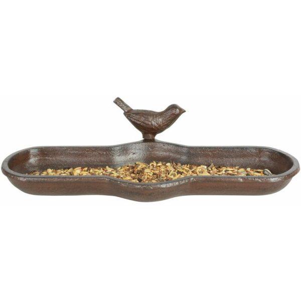 Bird Bath Brown Cast Iron BR25 - Brown - Esschert Design