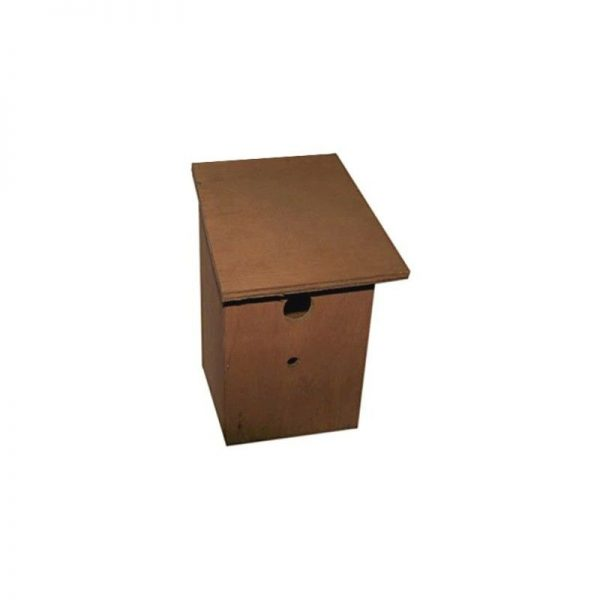 Bird Nest Box (One Size) (Brown) - Henry Bell