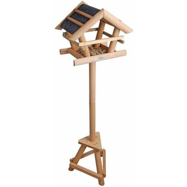 Bitumen Bird Table in Gift Box FB255 - Brown - Esschert Design