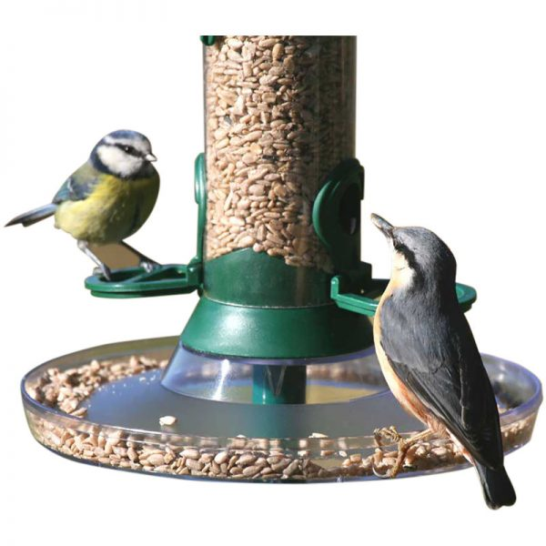 C J Catcher Bird Feeding Tray (Standard) (Clear)