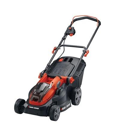 CLM3820L2 Cordless Lawnmower 2 x 36 Volt 2.0Ah Li-Ion - Black&decker