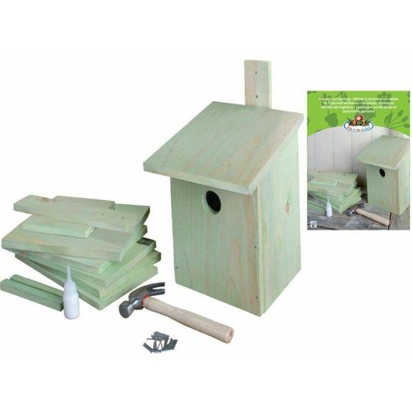 DIY Nesting Box 21.3x17x23.3 cm KG52 - Green - Esschert Design