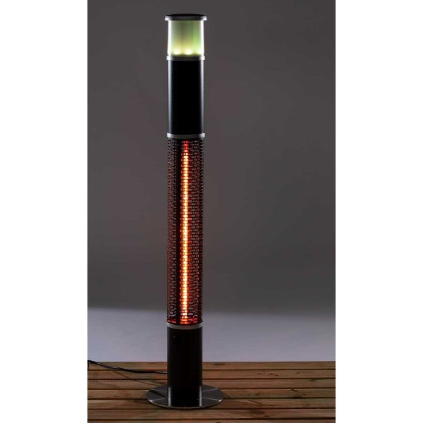 Daewoo 3 in 1 Patio Heater with Built in Speaker and Colour Changing LED Light