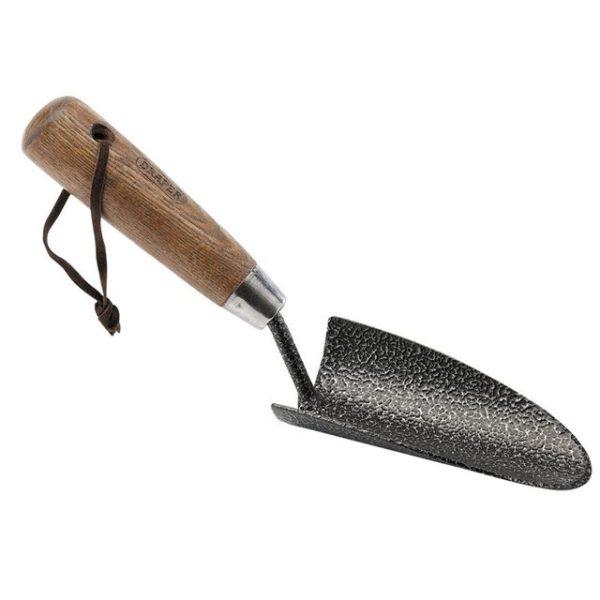 Draper Carbon Steel Heavy Duty Hand Trowel with Ash Handle