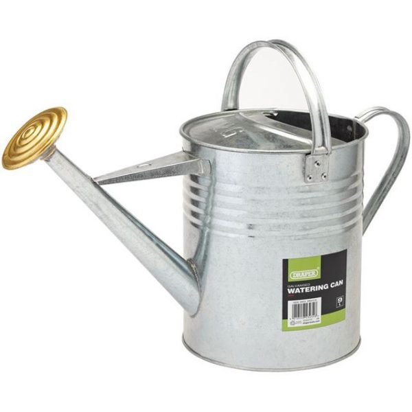 Draper Galvanised Watering Can (9L)