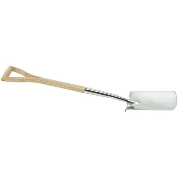 Draper Heritage Stainless Steel Digging Spade with Ash Handle