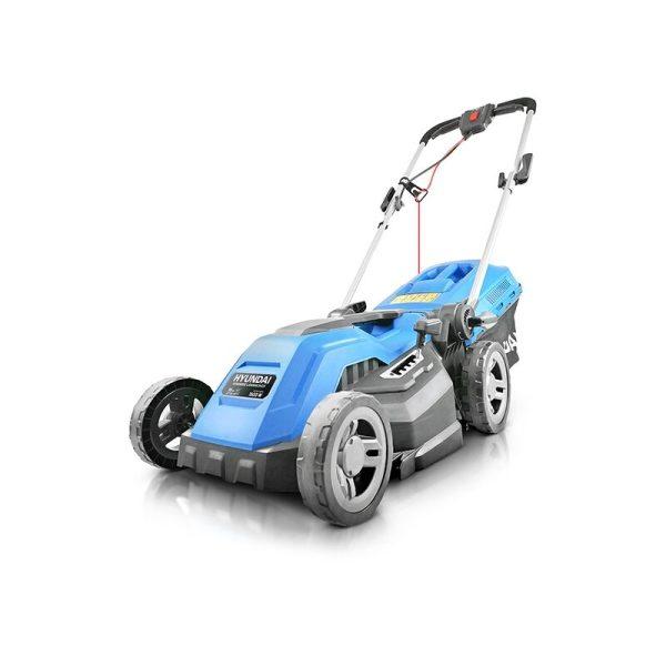 Electric 1600W / 230V 38cm Rotary Rear Roller Mulching Lawnmower   HYM3800E - Hyundai
