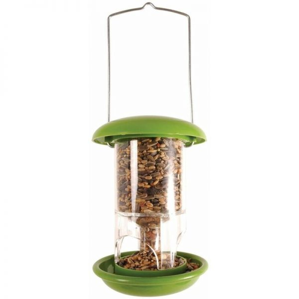Esschert Design Bird Feeder 11.9x11.9x17.2 cm FB118 - Green