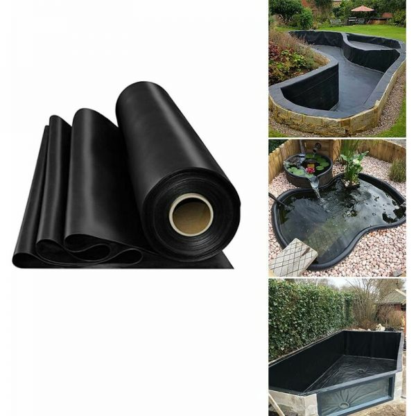 Fish Pond Liner Garden Landscaping Pool Membrane Anti-Seepage Waterproof Liner,3.5x3m