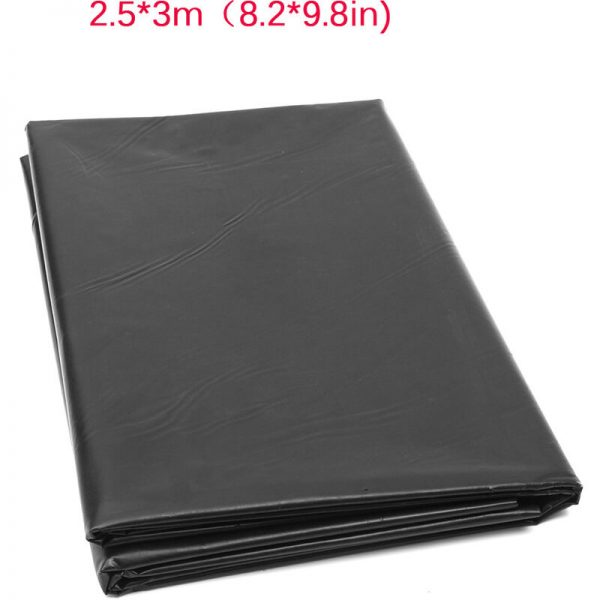 Fish Pond Liner PVC Membrane Reinforced Landscaping Durable Reinforced HDPE 2.5x3m
