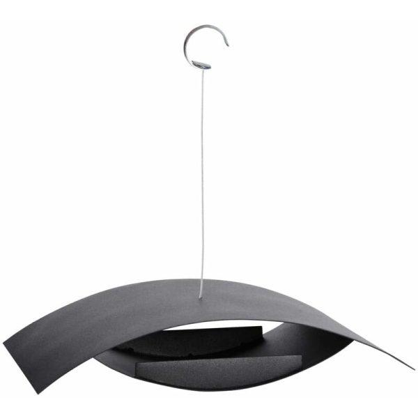 Hanging Bird Feeder Black S FB437 - Black - Esschert Design