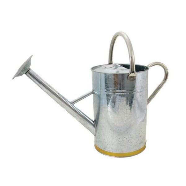 Kent & Stowe Metal Watering Can Galvanised Steel 9 litre
