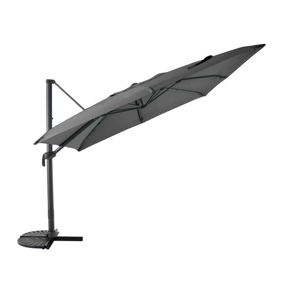 MWH Overhanging Cantilever Parasol - Anthracite