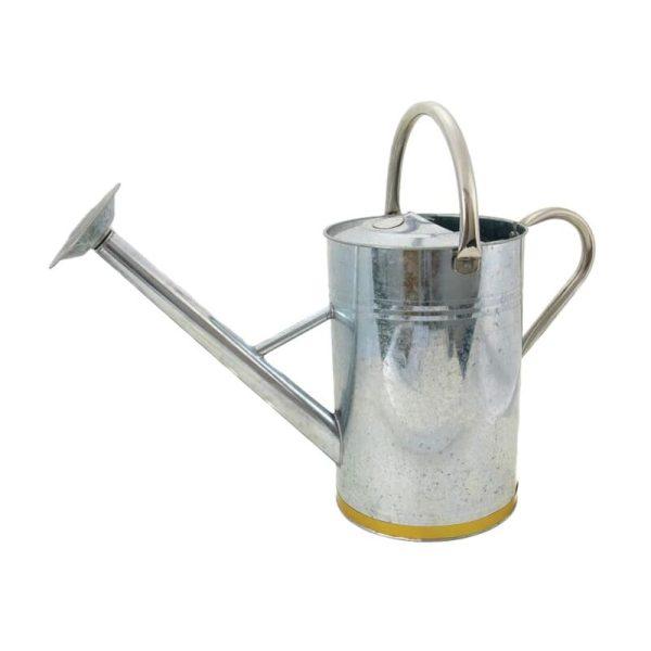 Metal Watering Can Galvanised Steel 9 litre - Kent&stowe