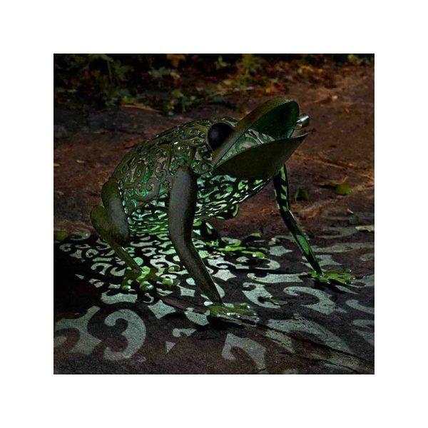 Smart Garden Solar Frog Silhouette Light Garden Light Figure Ornament Colour