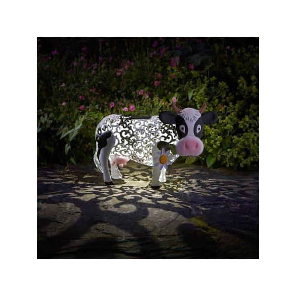 Solar Daisy The Cow Silhouette Light Garden Light Figure Ornament - Smart Garden