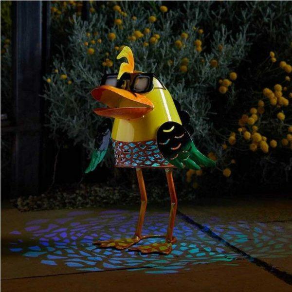 Solar Doctor Duck Silhouette Light Garden Light Figure Ornament - Smart Garden