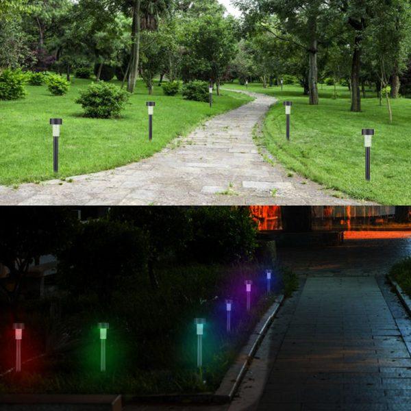 Ten Packs Solar Garden Lights Lawn Lights Light Control