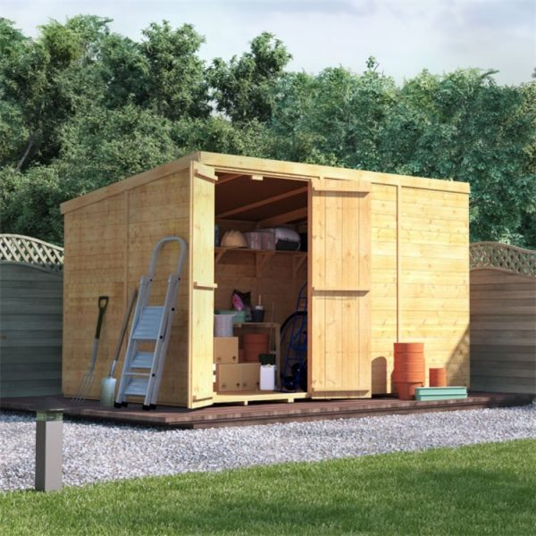 10 x 6 Shed - BillyOh Master Tongue and Groove Pent Shed - 10x6 Wooden Garden Shed
