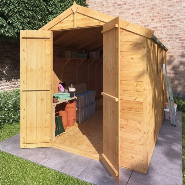10 x 6 Shed - BillyOh Master Tongue and Groove Wooden Shed - 10x6 Garden Shed - Windowed