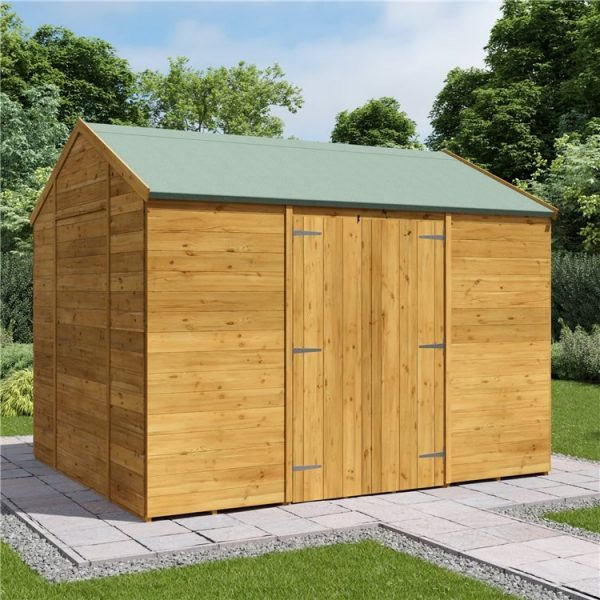 10 x 8 Shed - BillyOh Expert Reverse Workshop Garden Shed - Windowless
