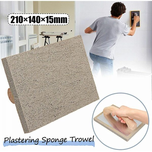 21x14cm supper fine cement plastering rubber sponge grout float tile hand trowel tools with wooden handle italy type