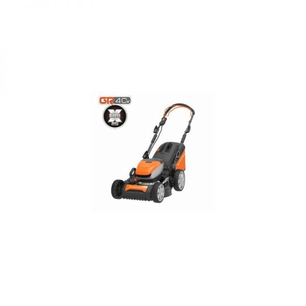 40V 46cm Self-Propelled Cordless Lawnmower with 5Ah Lithium-ion Battery & Quick Charger LM G46D - GR 40 range - Yard Force