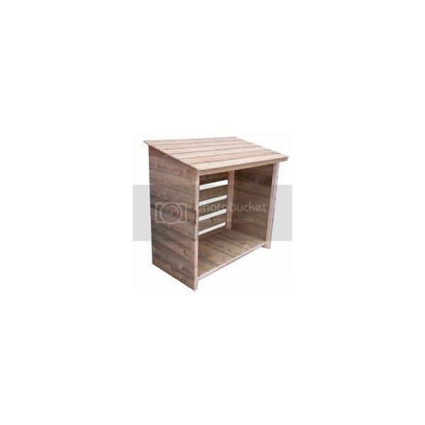 4x2 Empire Shiplap Log Store - natural