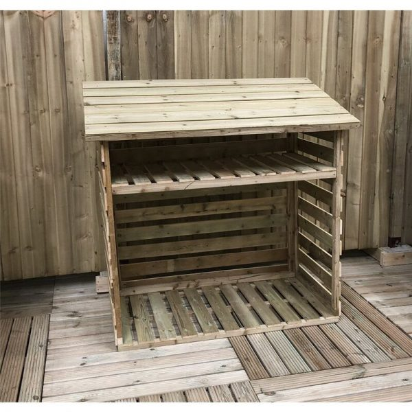 7 x 2 Pressure Treated Tongue And Groove Log Store